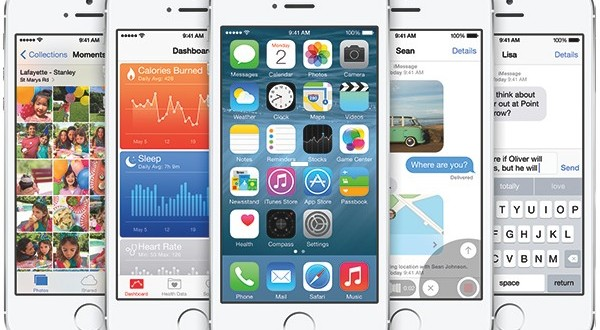iOS 8 GM iphone 6