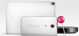 Google dévoile le Nexus 6, Nexus 9, Nexus Player et Android Lollipop
