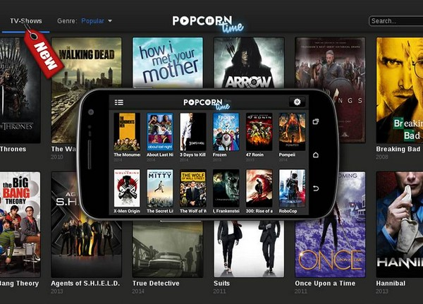popcorn time sur android