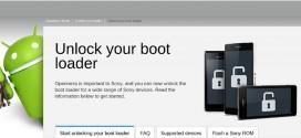 Sony explique comment déverrouiller le bootloader des Xperia