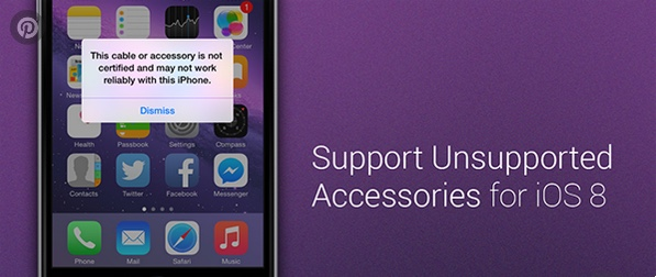 support unsupported accessories 8 cydia