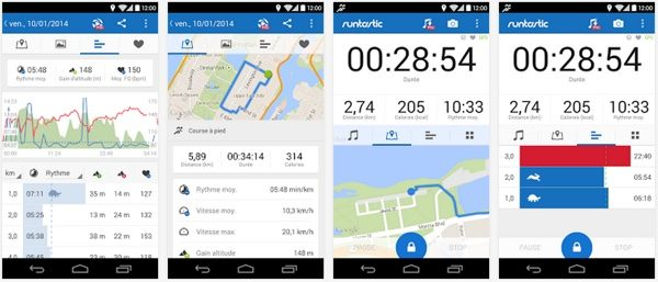 runtastic pro gratuit ios et android-infoidevice