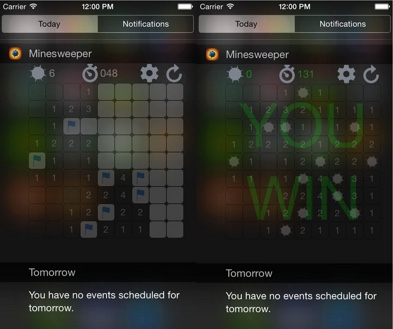 minesweeper demineur sur iphone-infoidevice