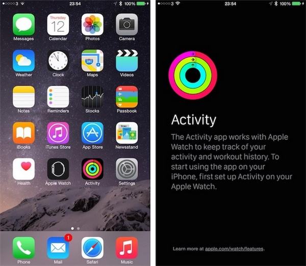 app activity iphone ios 8.2-infoidevice