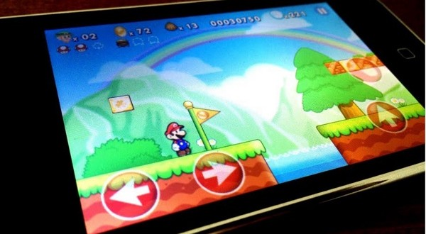 nintendo mario sur iphone-infoidevice