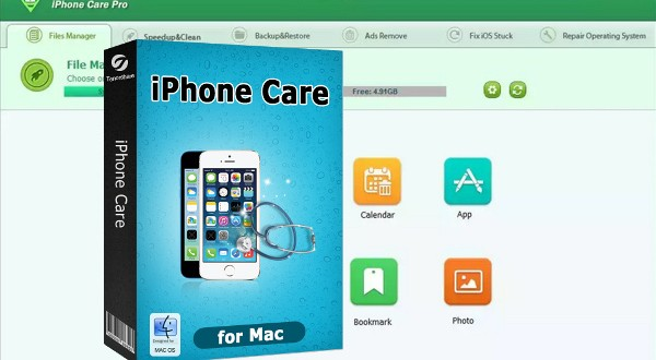 tenorshare iphone care pro-infoidevice