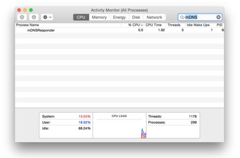 suppression discoveryd pour mdnsreponder sur mac-infoidevice