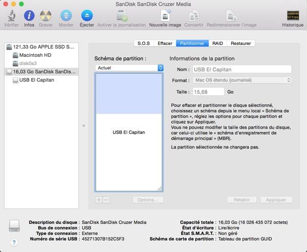 comment cr u00e9er une cl u00e9 usb bootable sur mac pour installer os x 10 11 el capitan