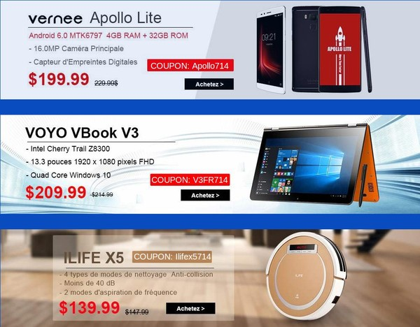 promotion vernee apollo voyo ilife gearbest-infoidevice