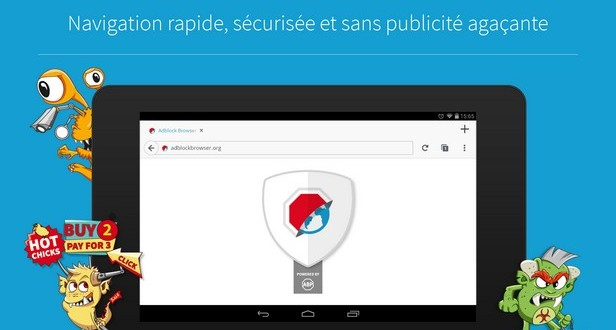 navigation rapide et securisee adblock browser-infoidevice
