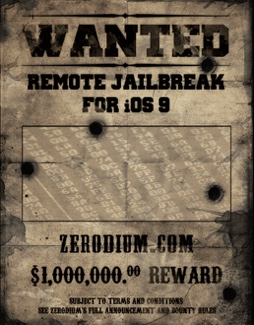 zerodium million dollar jailbreak ios 9-infoidevice