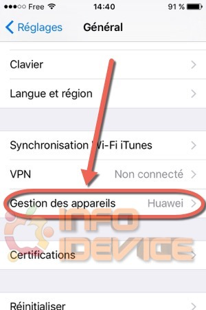 Etape 3 tuto installer emulateur nds4ios-infoidevice