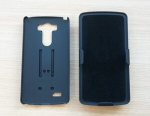 Test coque Encase Tough avec holster-infoidevice