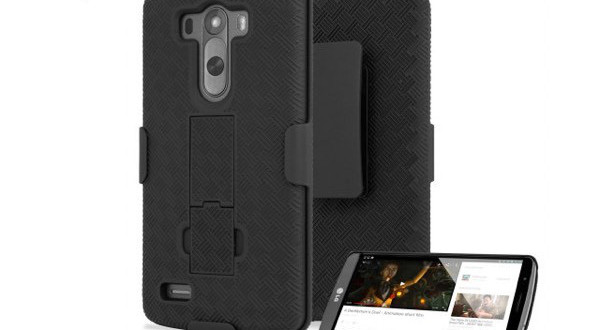 essai coque lg g3 Encase Tough holster-infoidevice