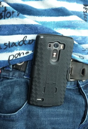 etui ceinture coque Encase Tough lg g3-infoidevice