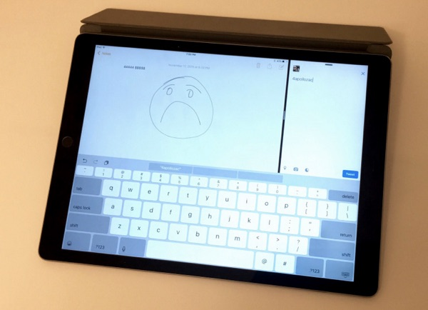 solution bug clavier ipad pro-infoidevice