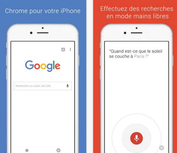 google chrome 48 pour iphone et ipad-infoidevice