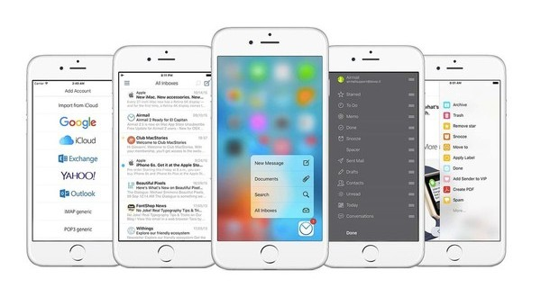 airmail pour ios-infoidevice