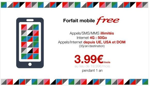 forfait free vente privee-infoidevice