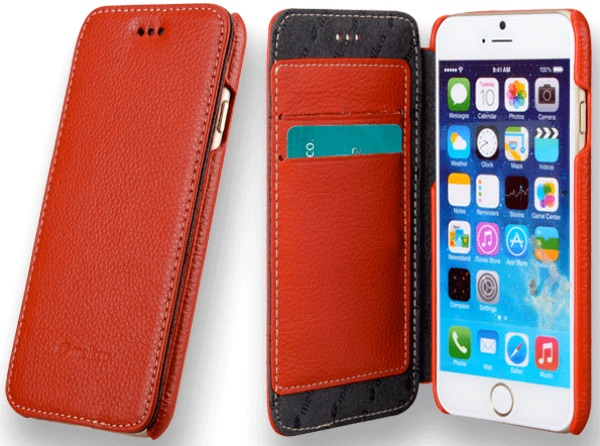 housse cuir melkco iphone 6-6s - infoidevice