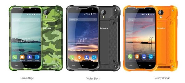 smartphone resistant blackview bv5000 4G-infoidevice