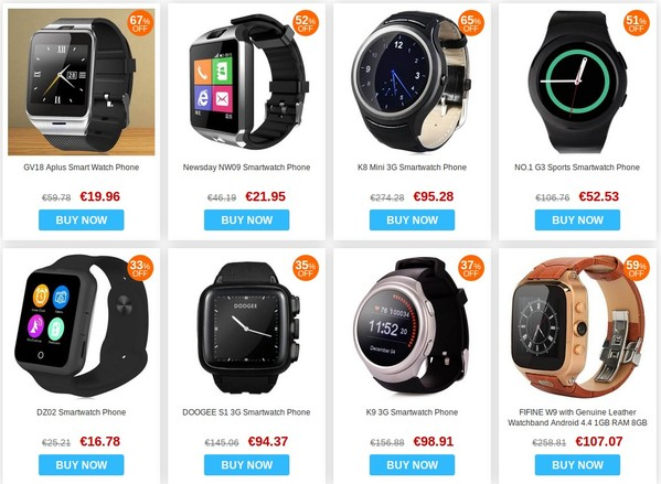 vente flash smartwatch-infoidevice