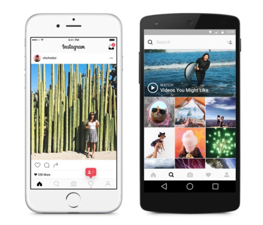 instagram ios android-infoidevice