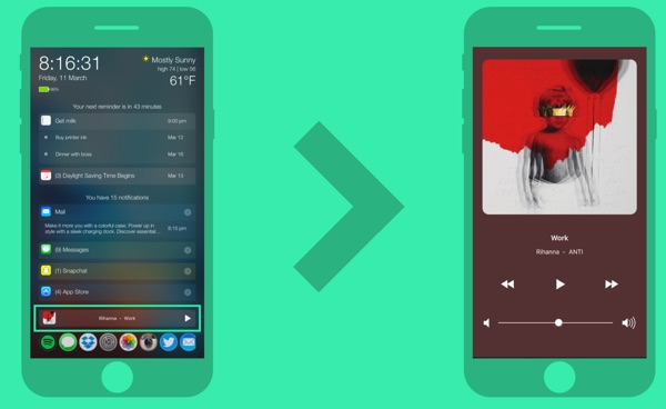 symphonia elegant music player tweak PersonalAssistant-infoidevice
