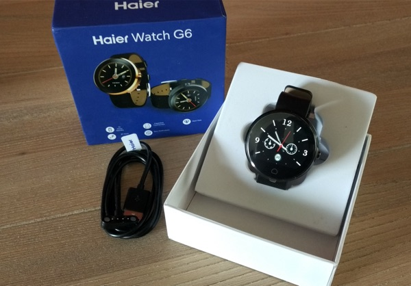 emballage smartwatch haier g6-infoidevice