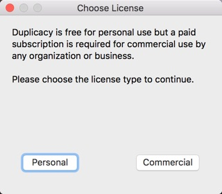 duplicacy mac-infoidevice