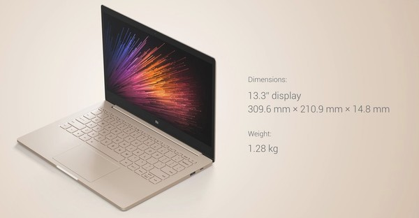 notebook xiaomi air 13 pouces-infoidevice