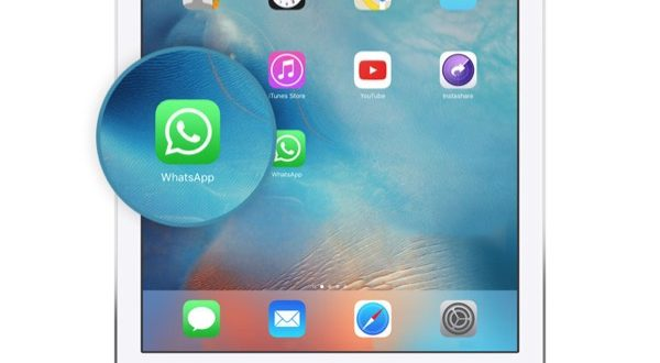 installer whatsapp sur iPad sous iOS 10