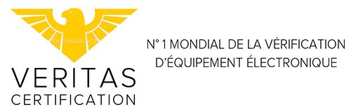 Veritas Certification n°1 mondial de la vérification d'équipement électronique