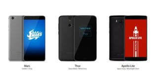 promotion smartphone vernee mars apollo thor infoidevice