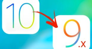 downgrade ios 10 vers ios 9 infoidevice