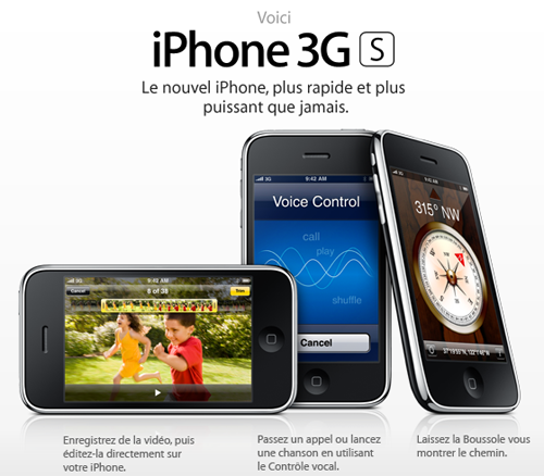 Concours iPhone 3GS Apple