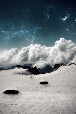 iPhone-Dark-Winter-background-iPhone-Wallpaper