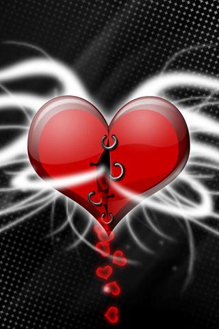 iPhone-Heart-background-iPhone-wallpaper