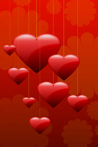 iPhone-Hearts-background-iPhone-wallpaper