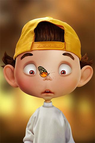 3D-Boy-+-Butterfly