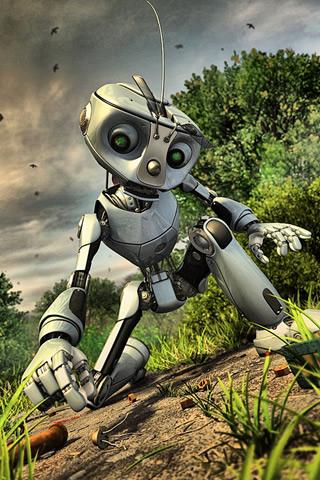 3D-Silver-Robot
