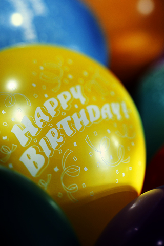 <Happy Birthday> Balloons
