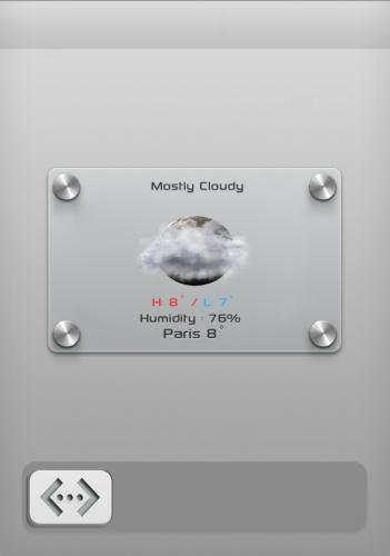 LS WeatherTap Lockscreen Theme 1