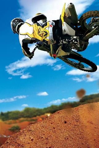 Motocross-Stunt