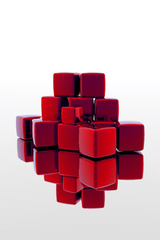 Red-Cubes