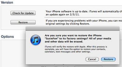 problème aucune carte sim installée iphone