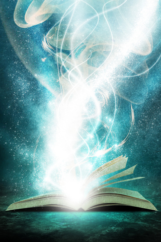 Book-of-Light-HD-iPhone-Wallpaper