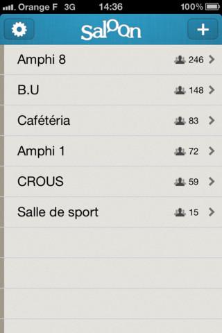 Saloon - iPhone App 1