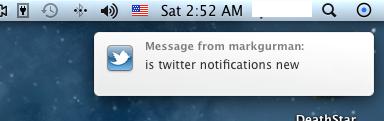 twitter OS X Lion