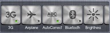 NCShortcuts pour iPhone